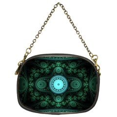 Grand Julian Fractal Chain Purses (one Side)  by Simbadda