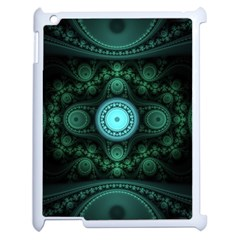 Grand Julian Fractal Apple Ipad 2 Case (white) by Simbadda
