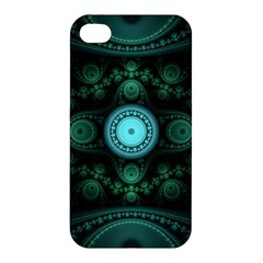 Grand Julian Fractal Apple Iphone 4/4s Premium Hardshell Case by Simbadda