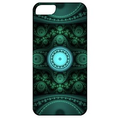 Grand Julian Fractal Apple Iphone 5 Classic Hardshell Case by Simbadda