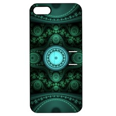 Grand Julian Fractal Apple Iphone 5 Hardshell Case With Stand by Simbadda