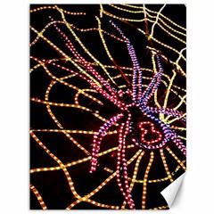 Black Widow Spider, Yellow Web Canvas 36  X 48   by Simbadda