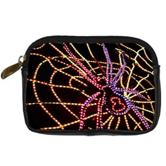 Black Widow Spider, Yellow Web Digital Camera Cases by Simbadda