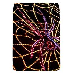 Black Widow Spider, Yellow Web Flap Covers (l)  by Simbadda