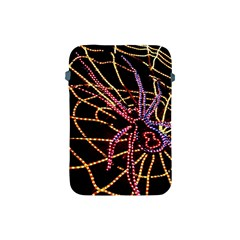 Black Widow Spider, Yellow Web Apple Ipad Mini Protective Soft Cases by Simbadda