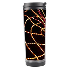 Black Widow Spider, Yellow Web Travel Tumbler by Simbadda