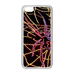 Black Widow Spider, Yellow Web Apple Iphone 5c Seamless Case (white) by Simbadda