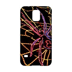 Black Widow Spider, Yellow Web Samsung Galaxy S5 Hardshell Case  by Simbadda