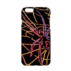 Black Widow Spider, Yellow Web Apple Iphone 6/6s Hardshell Case by Simbadda