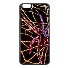 Black Widow Spider, Yellow Web Apple Iphone 6 Plus/6s Plus Black Enamel Case by Simbadda