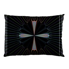 Fractal Rays Pillow Case by Simbadda