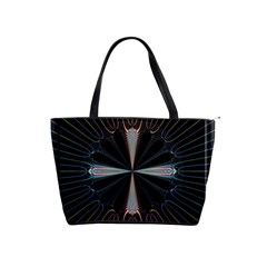 Fractal Rays Shoulder Handbags by Simbadda
