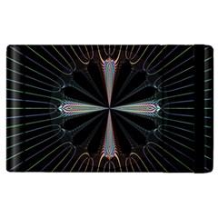 Fractal Rays Apple iPad 3/4 Flip Case by Simbadda
