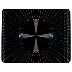 Fractal Rays Jigsaw Puzzle Photo Stand (rectangular) by Simbadda