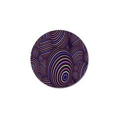 Abstract Colorful Spheres Golf Ball Marker (4 Pack) by Simbadda