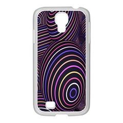 Abstract Colorful Spheres Samsung Galaxy S4 I9500/ I9505 Case (white) by Simbadda