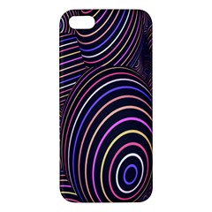 Abstract Colorful Spheres Iphone 5s/ Se Premium Hardshell Case by Simbadda