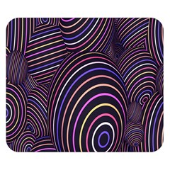 Abstract Colorful Spheres Double Sided Flano Blanket (small)  by Simbadda