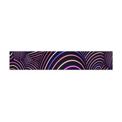 Abstract Colorful Spheres Flano Scarf (mini) by Simbadda