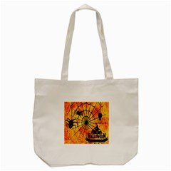 Halloween Weird  Surreal Atmosphere Tote Bag (cream) by Simbadda