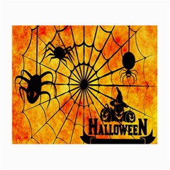 Halloween Weird  Surreal Atmosphere Small Glasses Cloth (2 Side) by Simbadda