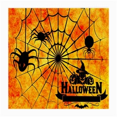 Halloween Weird  Surreal Atmosphere Medium Glasses Cloth by Simbadda