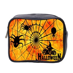 Halloween Weird  Surreal Atmosphere Mini Toiletries Bag 2 Side by Simbadda