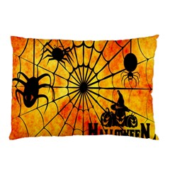 Halloween Weird  Surreal Atmosphere Pillow Case (two Sides) by Simbadda