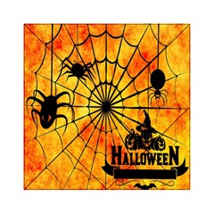 Halloween Weird  Surreal Atmosphere Acrylic Tangram Puzzle (6  X 6 ) by Simbadda