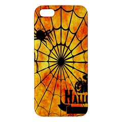 Halloween Weird  Surreal Atmosphere Apple Iphone 5 Premium Hardshell Case by Simbadda