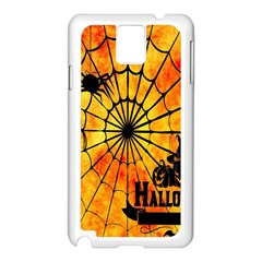Halloween Weird  Surreal Atmosphere Samsung Galaxy Note 3 N9005 Case (white) by Simbadda