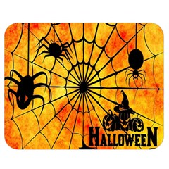 Halloween Weird  Surreal Atmosphere Double Sided Flano Blanket (medium)  by Simbadda