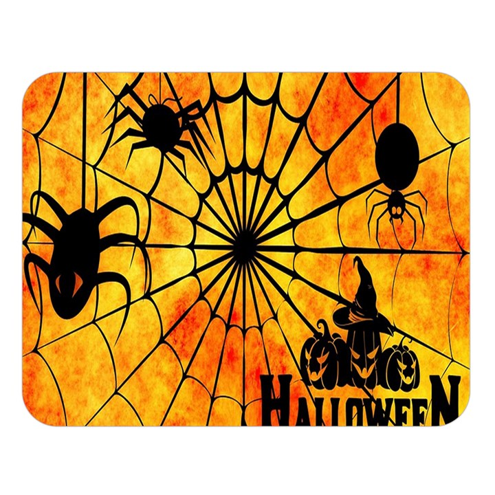 Halloween Weird  Surreal Atmosphere Double Sided Flano Blanket (Large)