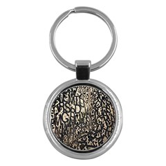 Wallpaper Texture Pattern Design Ornate Abstract Key Chains (round)  by Simbadda