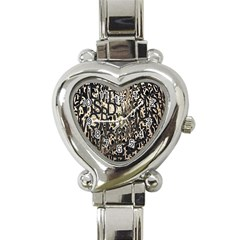 Wallpaper Texture Pattern Design Ornate Abstract Heart Italian Charm Watch by Simbadda
