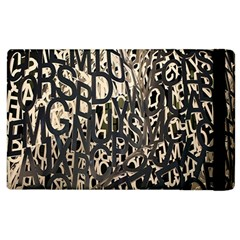 Wallpaper Texture Pattern Design Ornate Abstract Apple Ipad 2 Flip Case by Simbadda