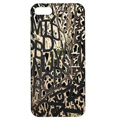 Wallpaper Texture Pattern Design Ornate Abstract Apple Iphone 5 Hardshell Case With Stand by Simbadda