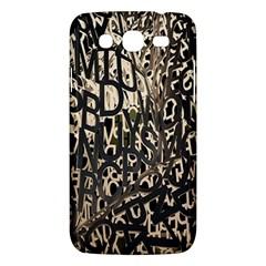 Wallpaper Texture Pattern Design Ornate Abstract Samsung Galaxy Mega 5 8 I9152 Hardshell Case  by Simbadda