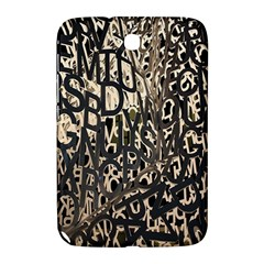 Wallpaper Texture Pattern Design Ornate Abstract Samsung Galaxy Note 8 0 N5100 Hardshell Case  by Simbadda