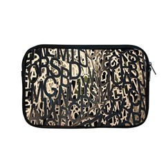 Wallpaper Texture Pattern Design Ornate Abstract Apple Macbook Pro 13  Zipper Case by Simbadda