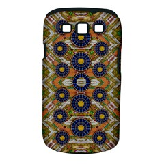 Fleur Flower Porcelaine In Calm Samsung Galaxy S Iii Classic Hardshell Case (pc+silicone) by pepitasart