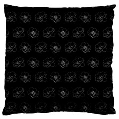 Floral Pattern Large Cushion Case (one Side) by Valentinaart