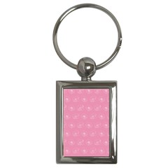 Pink Pattern Key Chains (rectangle)  by Valentinaart