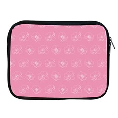 Pink Pattern Apple Ipad 2/3/4 Zipper Cases by Valentinaart