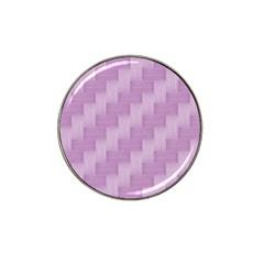 Purple Pattern Hat Clip Ball Marker by Valentinaart