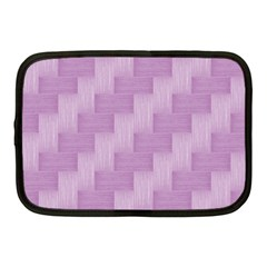 Purple Pattern Netbook Case (medium)  by Valentinaart