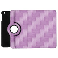 Purple Pattern Apple Ipad Mini Flip 360 Case by Valentinaart