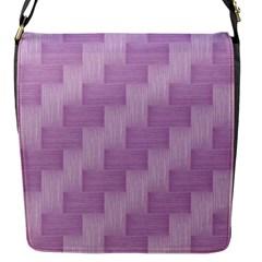Purple Pattern Flap Messenger Bag (s) by Valentinaart