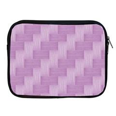 Purple Pattern Apple Ipad 2/3/4 Zipper Cases by Valentinaart