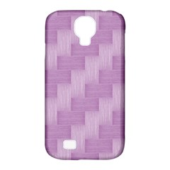 Purple Pattern Samsung Galaxy S4 Classic Hardshell Case (pc+silicone) by Valentinaart